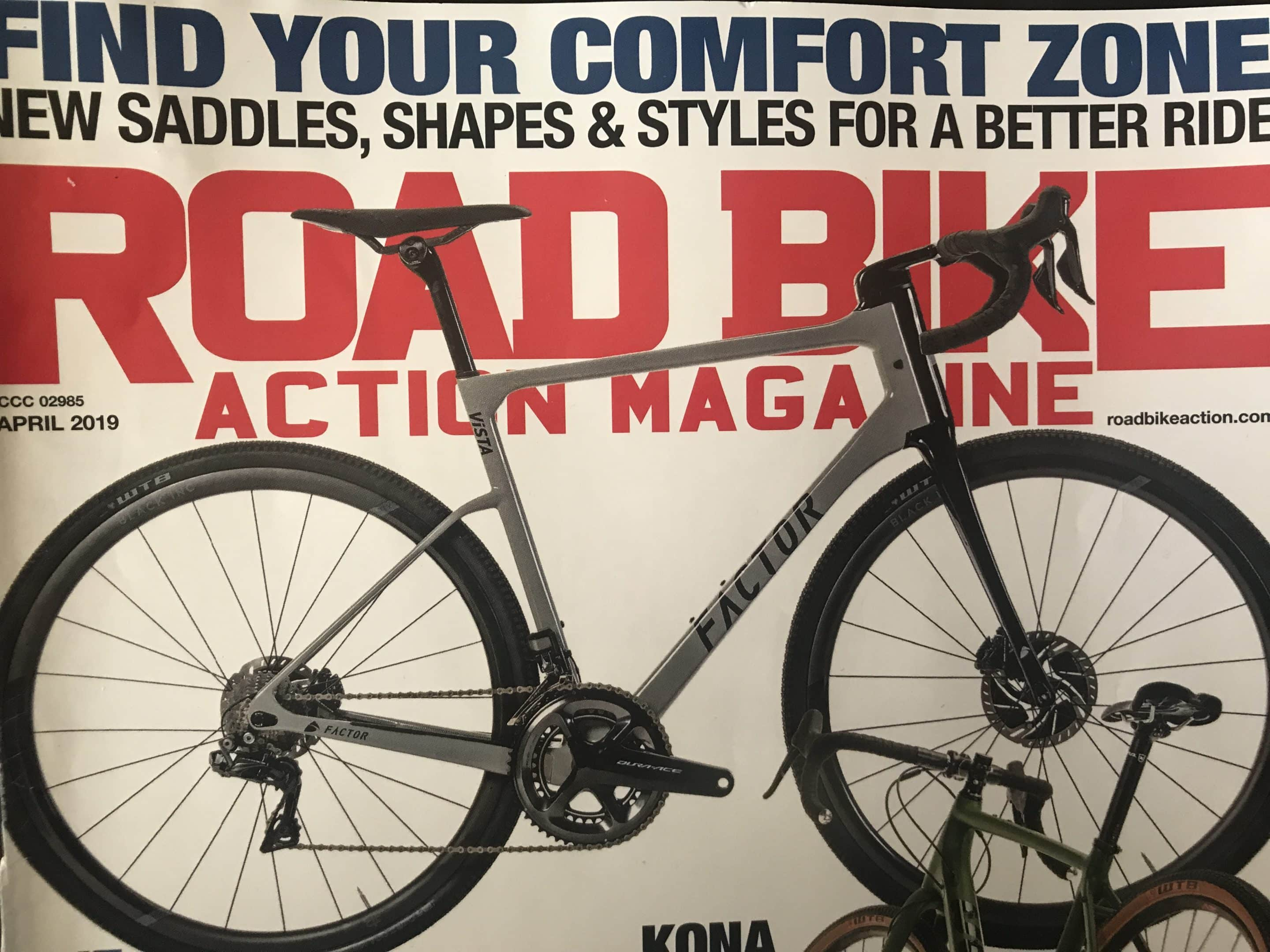 Infinity Series Saddles: Road Bike Action Magazine Review