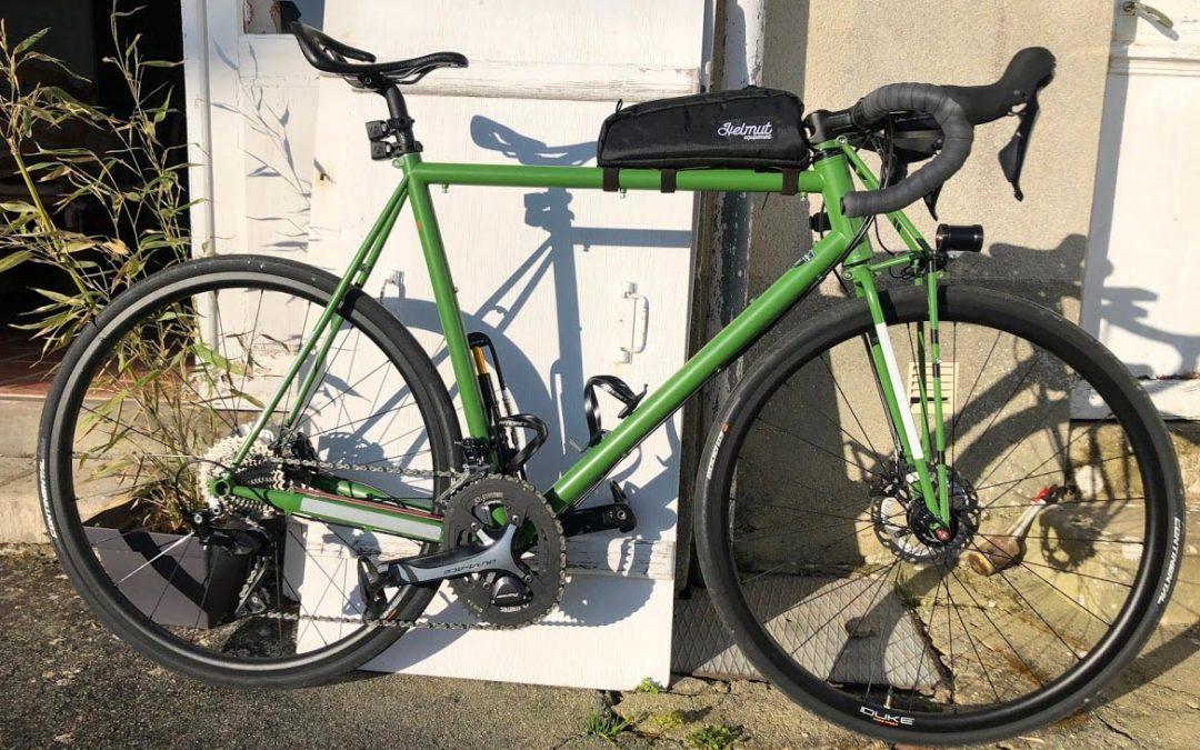 Un « siège » Infinity sur mon vélo