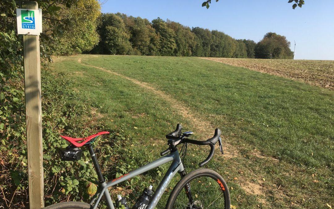 Eine Radfahrer Beule und ein unendlicher Sattel